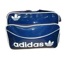 Adidas bag-blu e-white piping