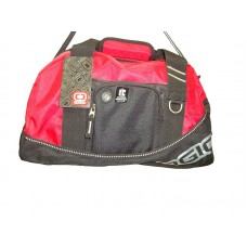 Gym bag-red/black