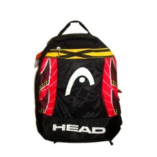 Head bag-black-red-yellow