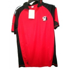 Cricket t -shirt-red-black-white