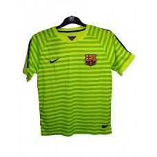 FCB-yellow green stripe half