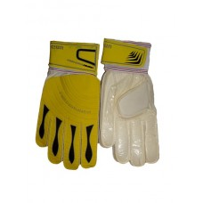 Unisport-football gloves-yellow