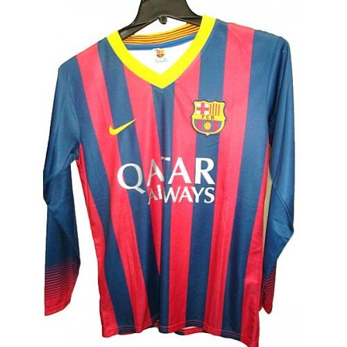 Barcelona-red/navy-full sleeve