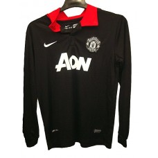 Manchester United-black-red collar-full